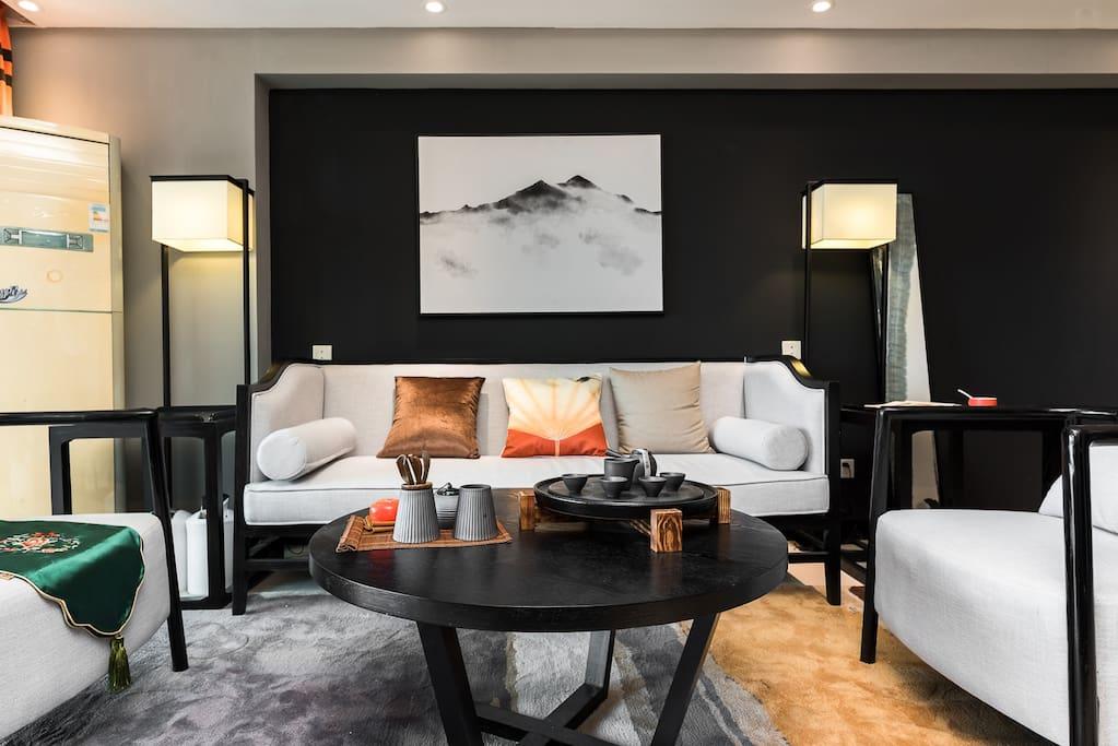 古典新中式风格客厅