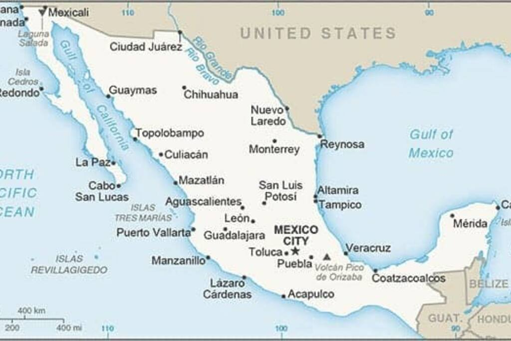 La Paz is located 2 hours north of Cabo San Lucas on the Sea of Cortez