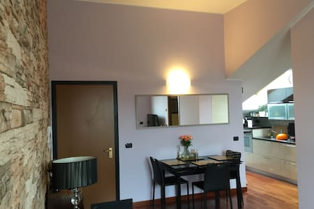 Private room in a green  and spacious apartment - San Giuliano Milanese