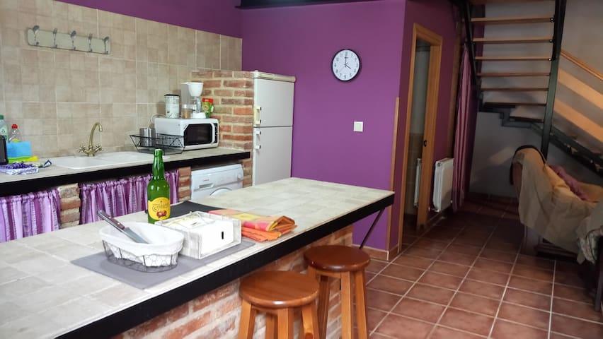 Preciosa casa típica asturiana