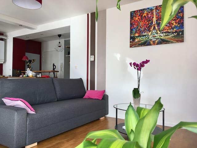 Appartement familial proche Versailles, HEC, Golf