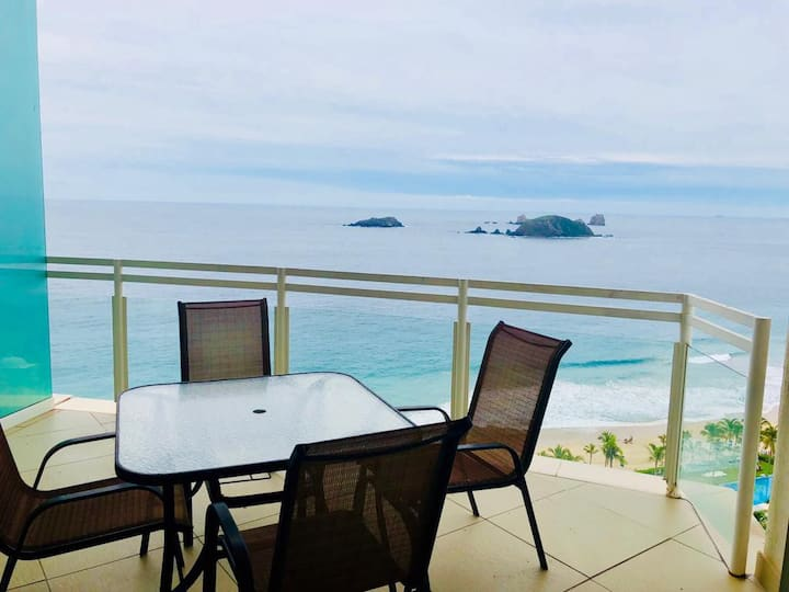 Incredible Ocean Views 1BR/1BA Condo BVG Marina