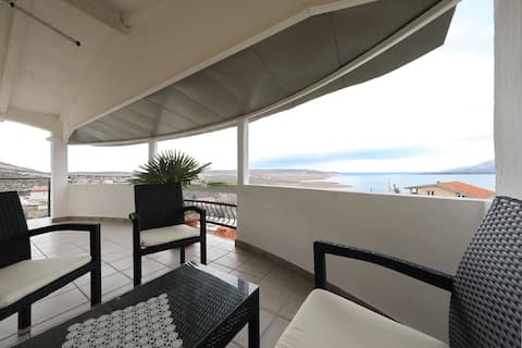 Ap. Savora-Lovely place to Stay,Balcony&sea view