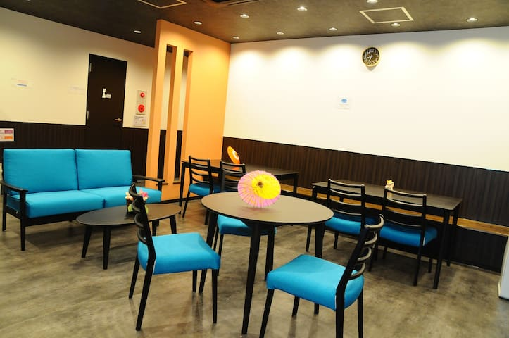 Namba station 5min/cheap and clean/Hostel/7505