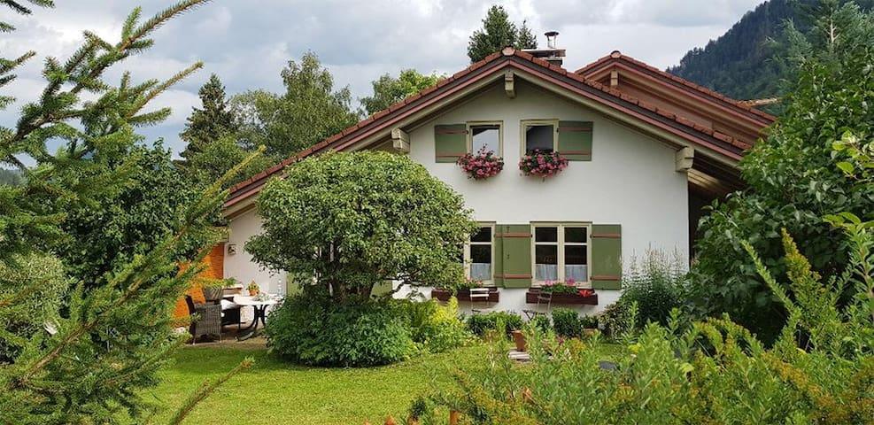 Schönes Haus nahe Alpsee im Allgäu
