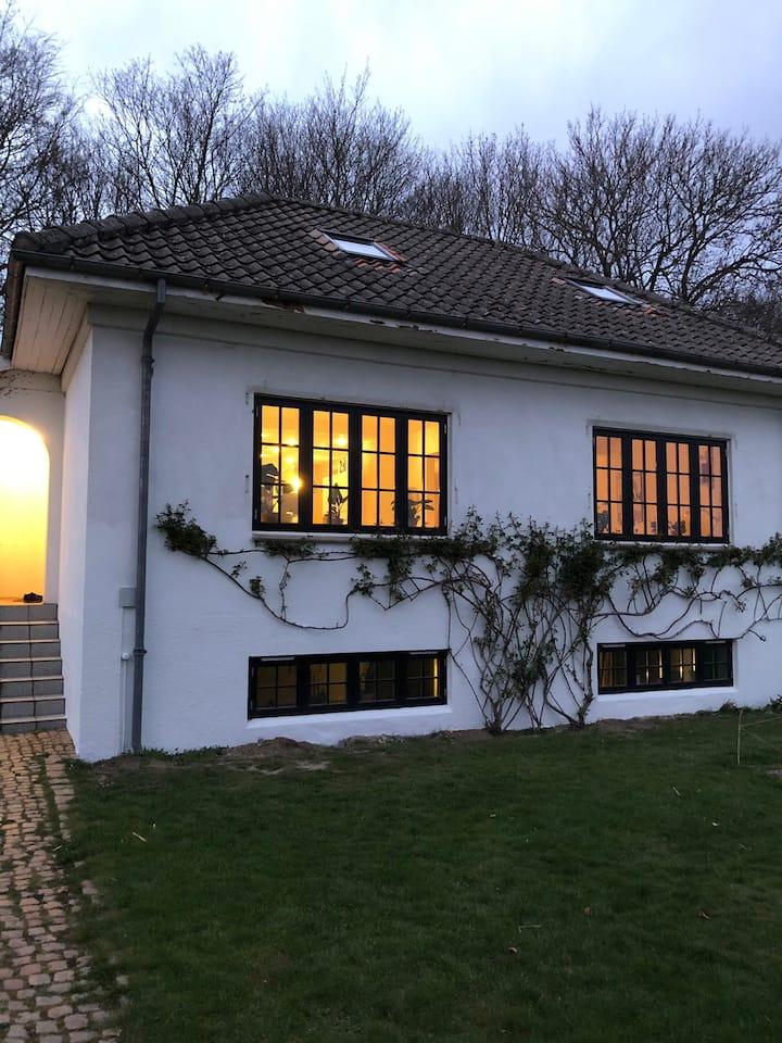 Cozy villa next to the woods