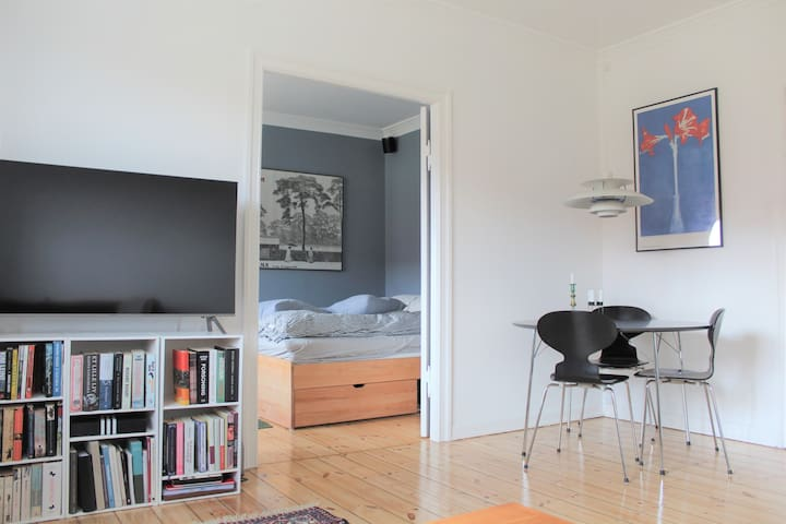 Fully equipped & central apartment in Nørrebro