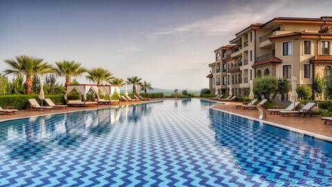 Burgas Beach Resort  -  апартамент с 1 спалня