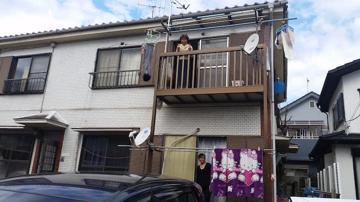 お1人様から松飛台・五香・東松戸ゲストハウス、駐車無料 , Narita direct/Car
