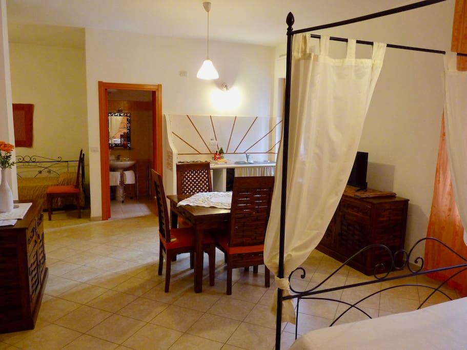 Studio 1 - 2 + 2 guests