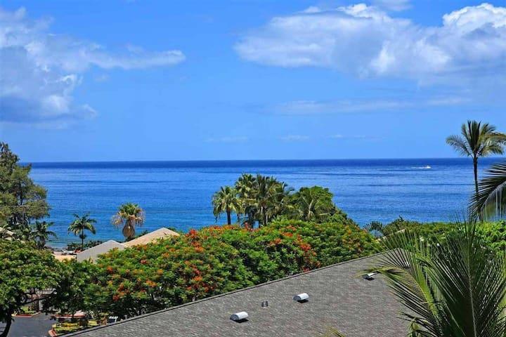 Kihei Akahi Resort, ocean view, steps from beach