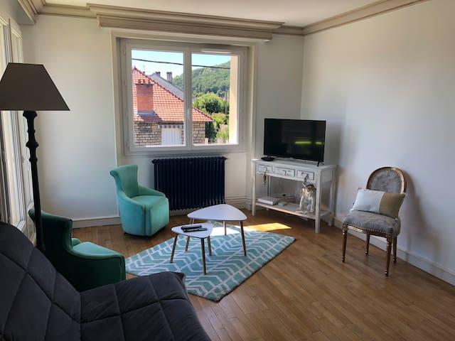 Appartement chaleureux de standing