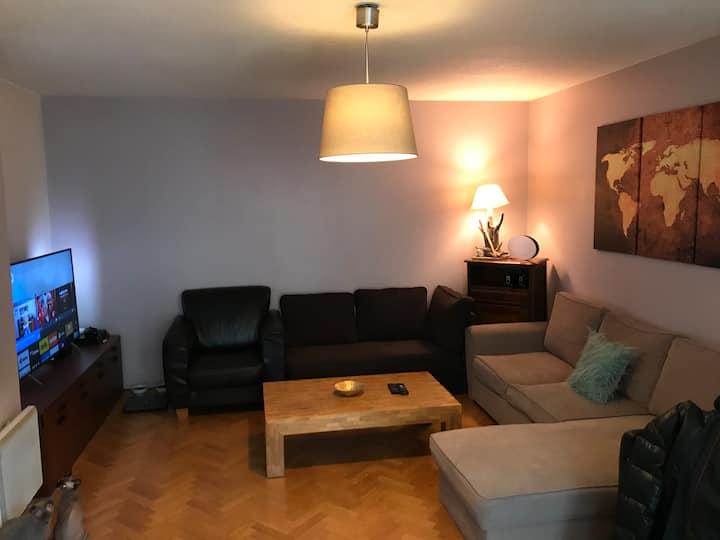 Idéal pour couple - appartement récent 2pc 53m2