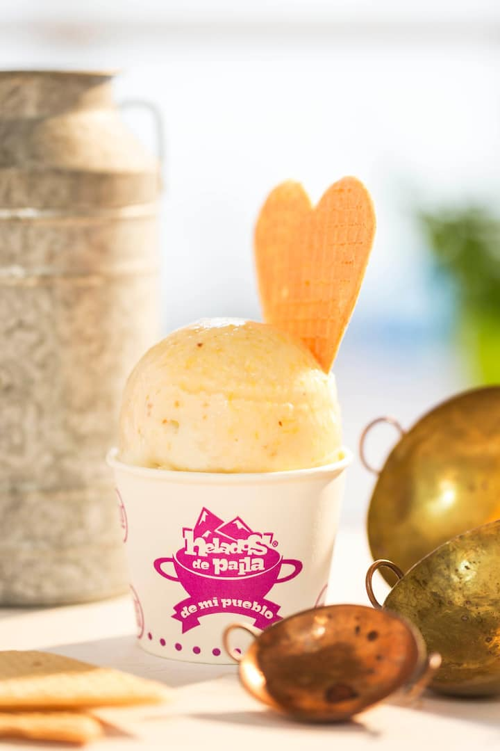 Ice creams made by women in Cartagena