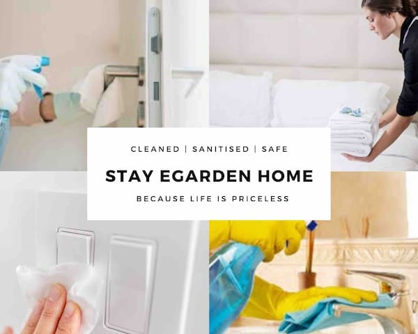 Sanitised E-HOME - Exceptional & Convenient STAY !