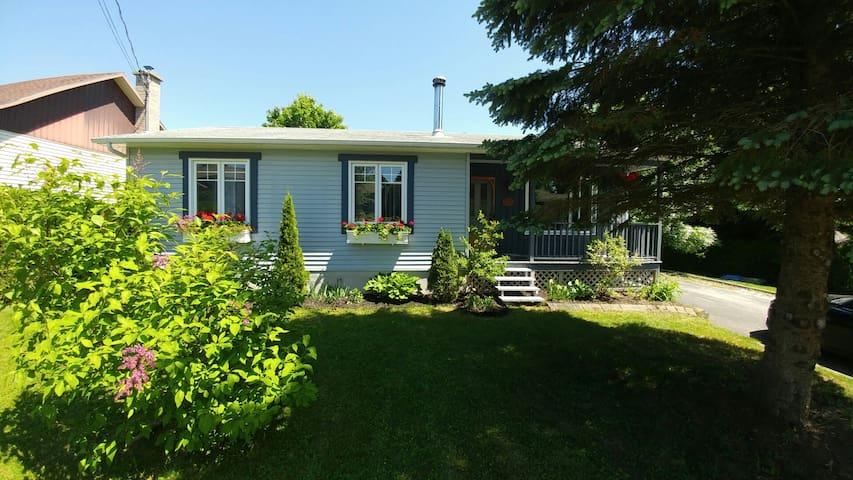 Notre petite maison chaleureuse