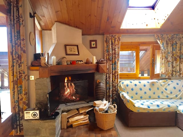 Best small apartment in Champoluc!