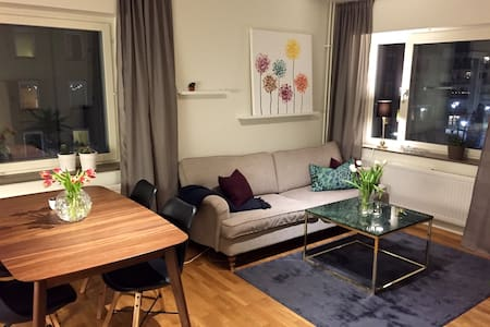 Fresh and totally new apartment with balcony! - Sztokholm - Apartament