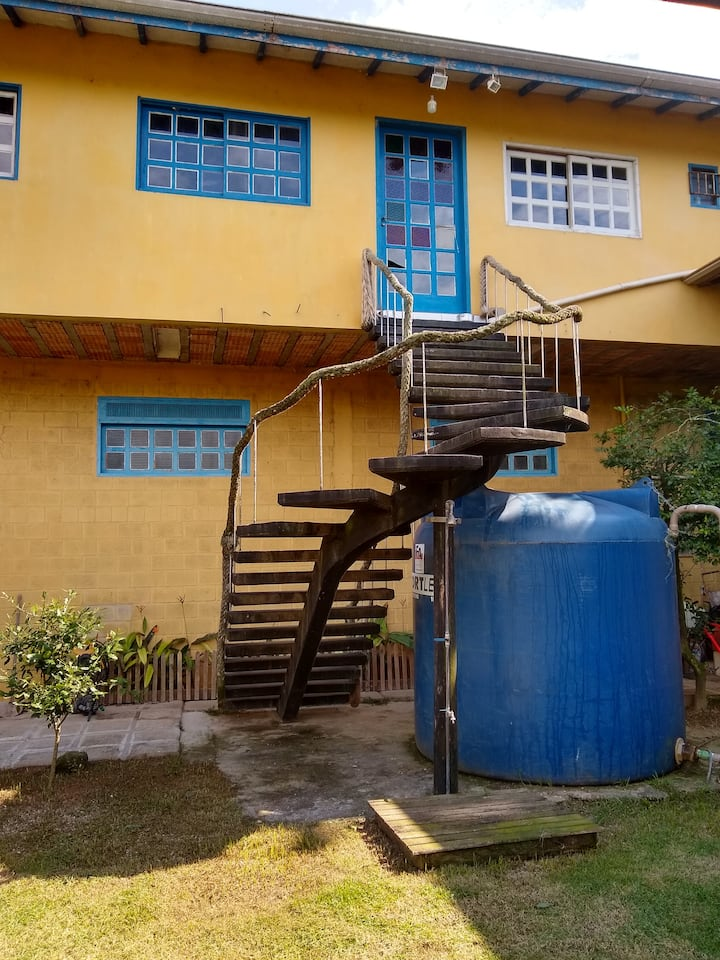 Casa inteira Caraguatatuba , perto de praias .