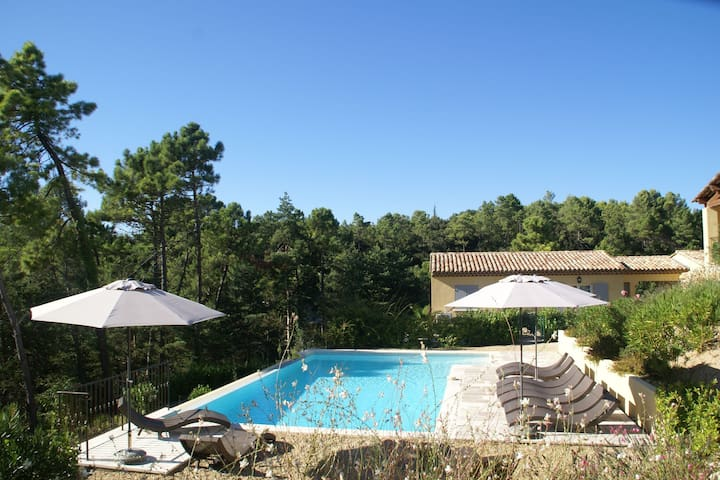Gorgeous Apartment in Montauroux with Swimming Pool