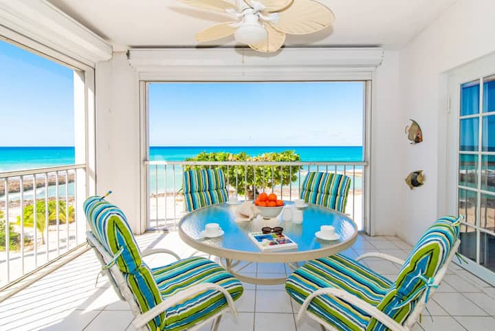 Serenity Awaits 2BR Second Floor Seven Mile Beach