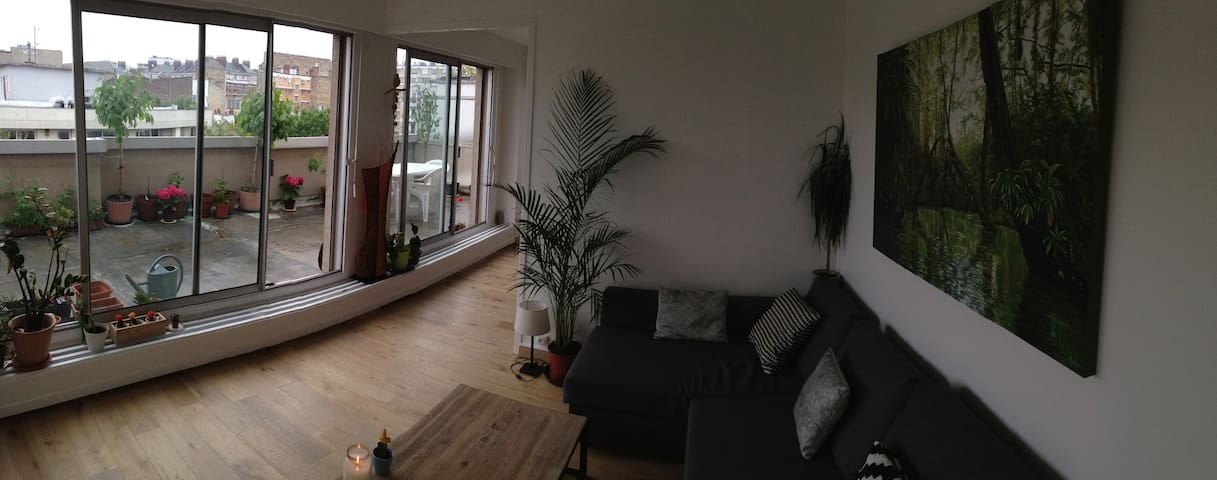 Luminous and cozy apartment with spacious terrace - Paris-10E-Arrondissement