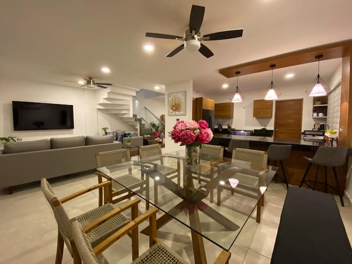 Casa Koati • New House Playacar • 4BR/4.5Bth •Pool