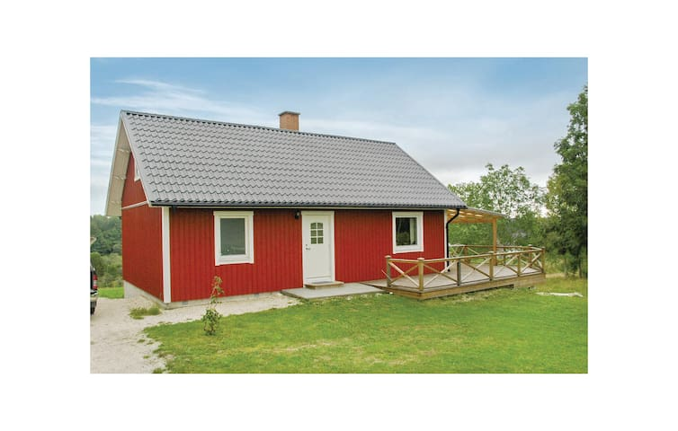 Holiday cottage with 2 bedrooms on 79m² in Åsensbruk