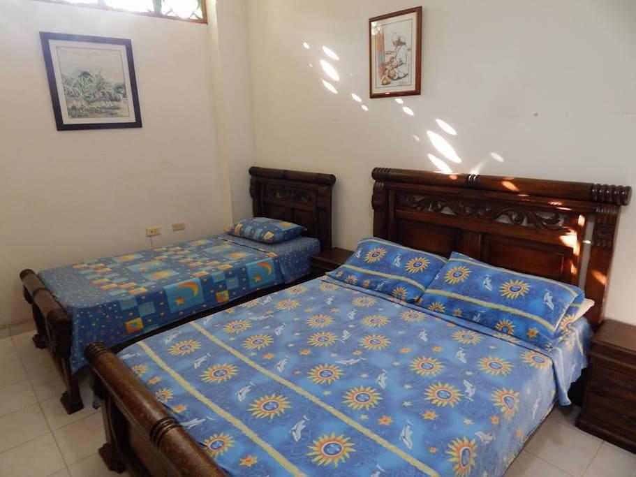 Habitación para tres personas