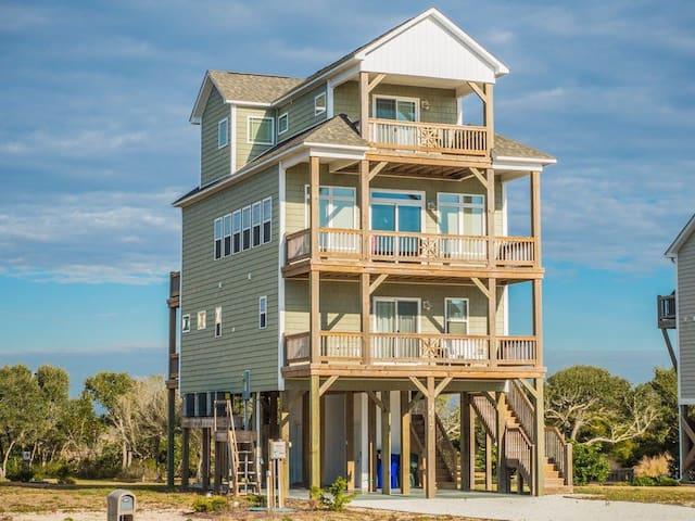 Rescue Retreat Beach House - North Topsail Beach - Casa