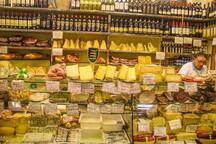 "At the corner: ""Antica Caciara"" Delicatessen in Trastevere"