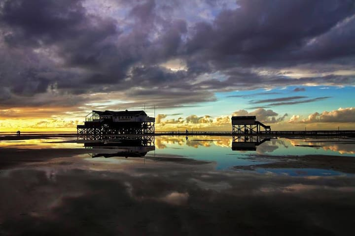 Hafenflair - Ferienwohnung direkt am Hafen