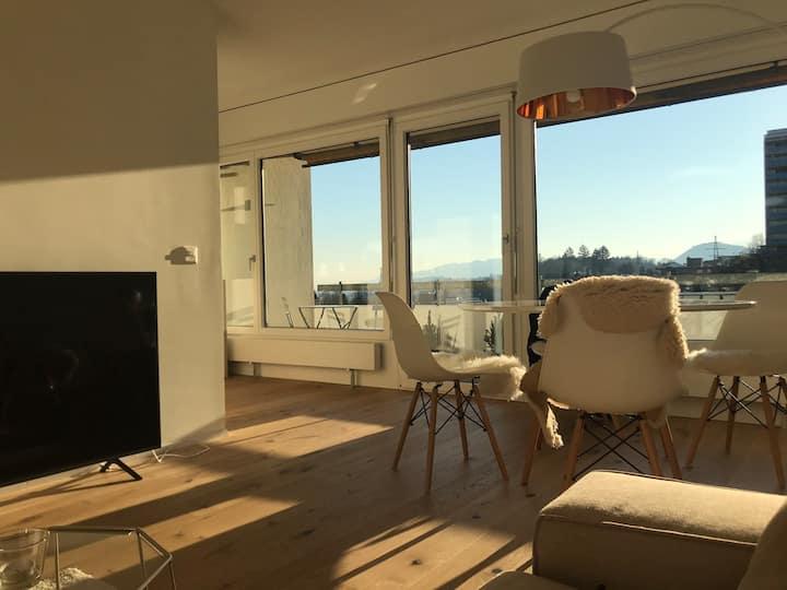 Ruhige 2,5 Zimmer Wohnung am Stadtrand von Luzern