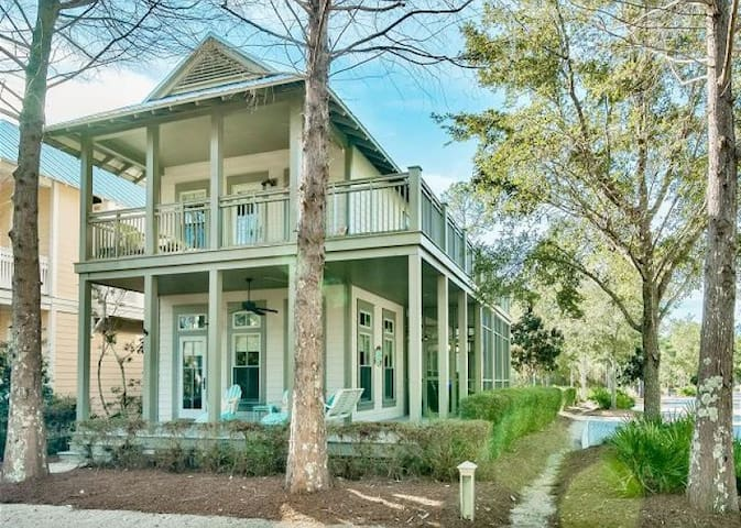 Golf Cart Included- Pristine Watercolor Home!