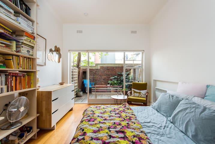 Beautiful studio apartment - Fitzroy - Appartement