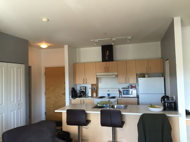 Bright 2BR near UVic and Downtown - Victoria - Appartamento