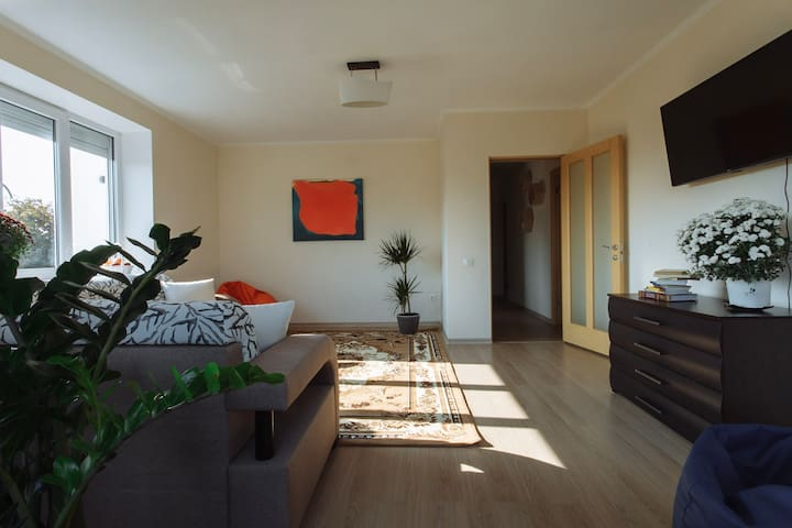 Cozy Apartment for Families in Botanica