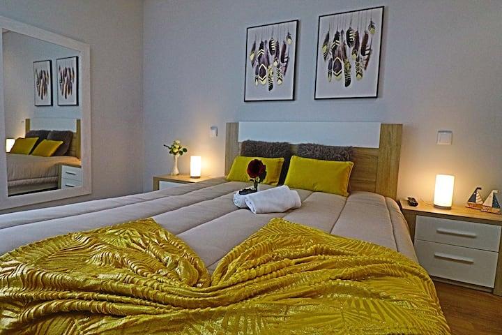Apartamento da Praia da Apulia| Piscina & Wi-fi