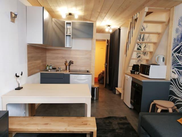 Duplex T3 à Tignes Val Claret - rénové