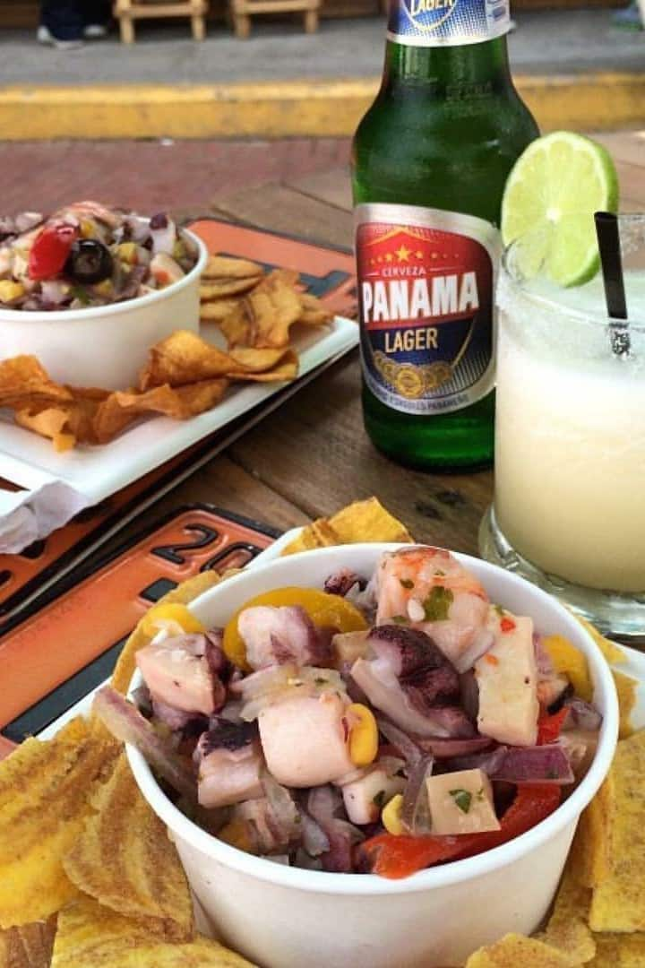 Ceviche + Beer + Seco Tonic