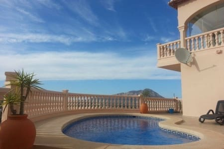 Casa Bonbini met fantastisch zicht - Benitachell