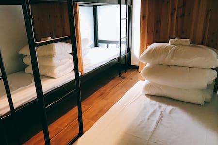 田裡有腳印『秋收・冬藏』上下舖 Bunk Beds - Yuli Township - Rumah tumpangan alam semula jadi