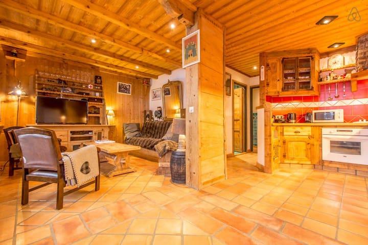 Wonderful 2 bedroms apt Megeve town - Megève - Apartment