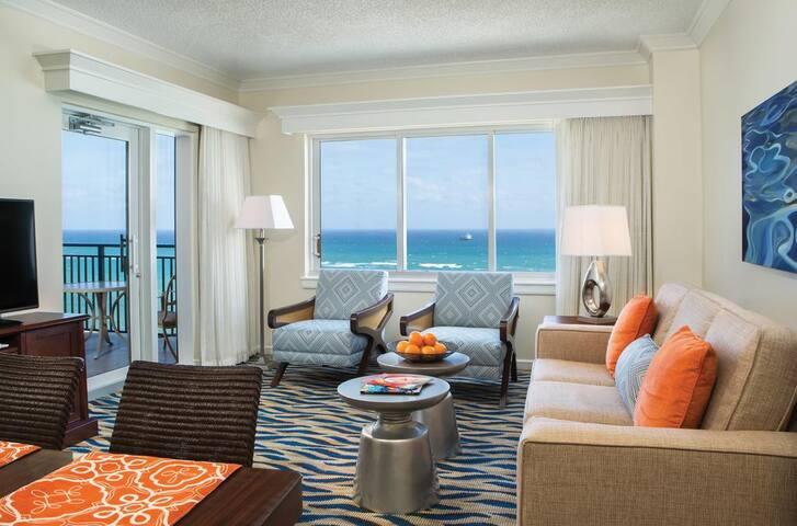 Marriott BeachPlace Towers - On Beach, Sleeps 8 - Fort Lauderdale - Timeshare
