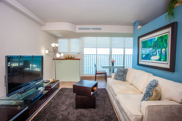 Boutique-Luxury Ocean View Studio @Condado - San Juan