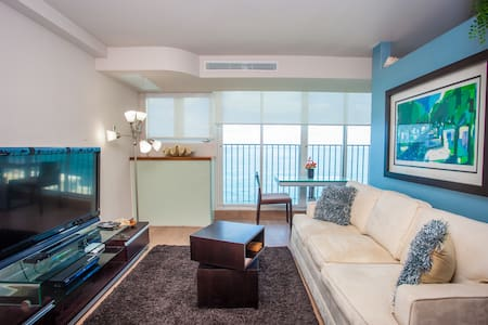 Boutique-Luxury Ocean View Studio @Condado - San Juan - Daire