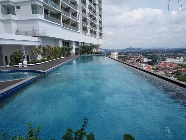 Melaka Bella Vista Hatten City 马六甲清境悠闲*度假屋 - Melaka - Wohnung