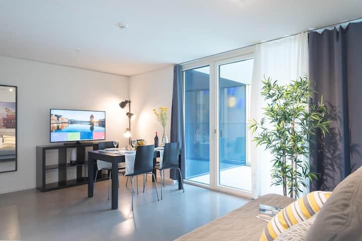 Bright 2.5 room Apartment Pilatus II