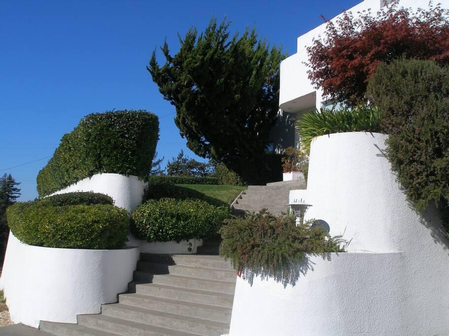 art deco villa pool hot tub private rooftop deck houses for rent in santa rosa california. Black Bedroom Furniture Sets. Home Design Ideas