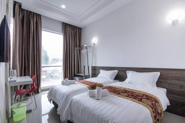 ATTA HOTEL Twin Room